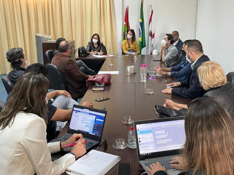 Reunião discutiu protocolos para a retomada segura dos eventos em Santa Catarina – Foto: Renan Koerich/Divulgação/Santur/ND