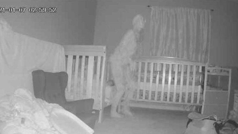 Aparição fantasmagórica assustou a mulher – Foto: Reprodução