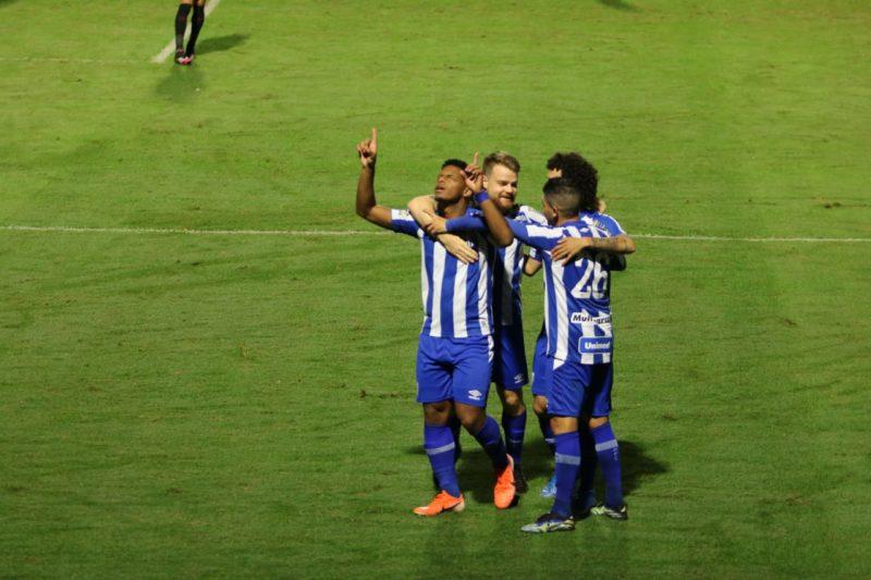 Jonathan é a esperança de gols do Leão da Ilha – Foto: Frederico Tadeu/Avaí/FC