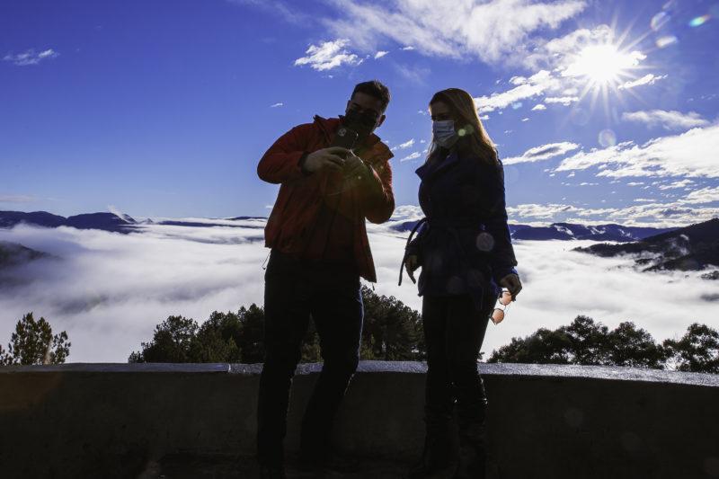 Urubici, conhecida pelo frio e a neve – Foto: Agência Somenzi