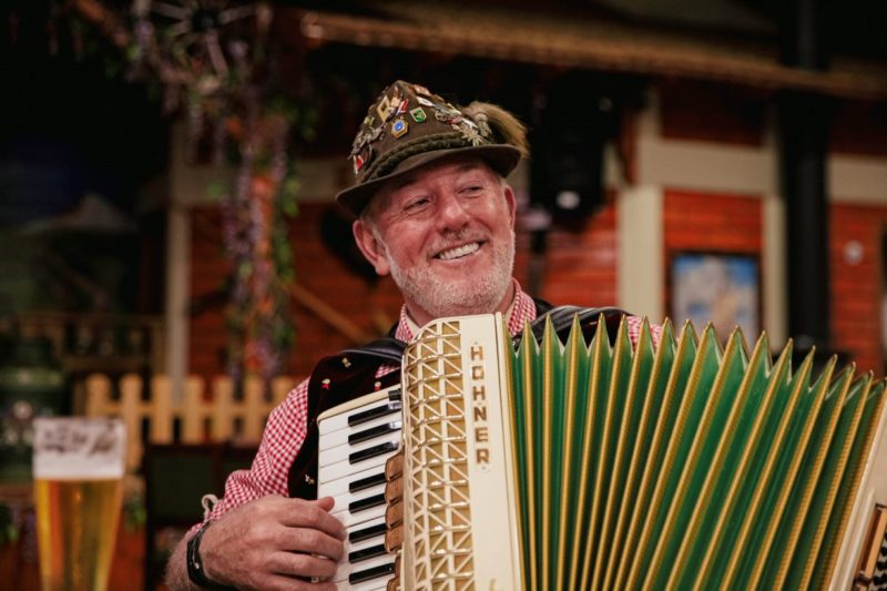 Em Treze Tílias é comum que os moradores toquem ao menos um instrumento musical– Foto: Agência Somenzi