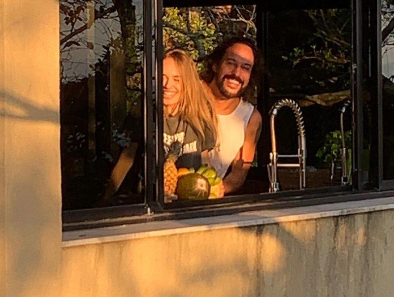 Gabriel o Pensador escreveu música para namorada catarinense – Foto: Reprodução/Instagram