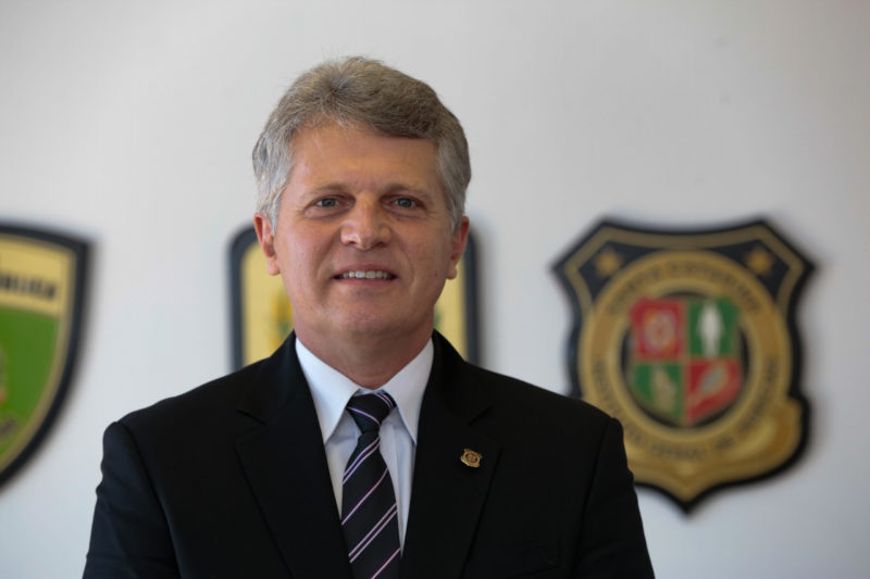Giovani Adriano, perito geral do IGP de Santa Catarina – Foto: Mauricio_Vieira/ND