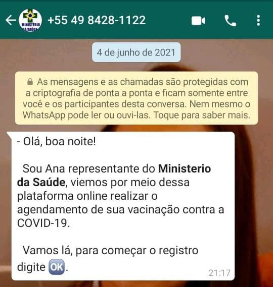 Golpe por aplicativo de mensagem – Foto: PMF/Divulgação/ND