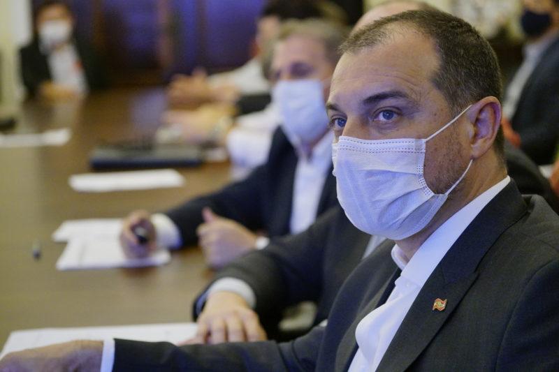 Governador aguarda a contraprova do exame para confirmar se realmente houve a reinfecção – Foto: Secom/Divulgação