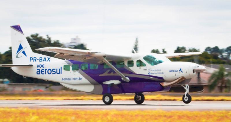 avião que fará voos entre Florianópolis e Curitiba