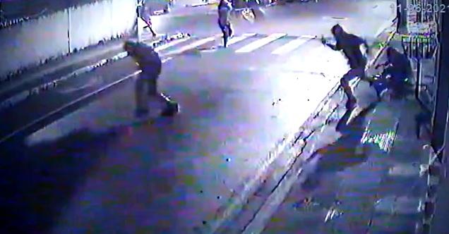 Três são mortos em chacina em frente a quitinete na Grande Florianópolis– Foto: Reprodução/ND