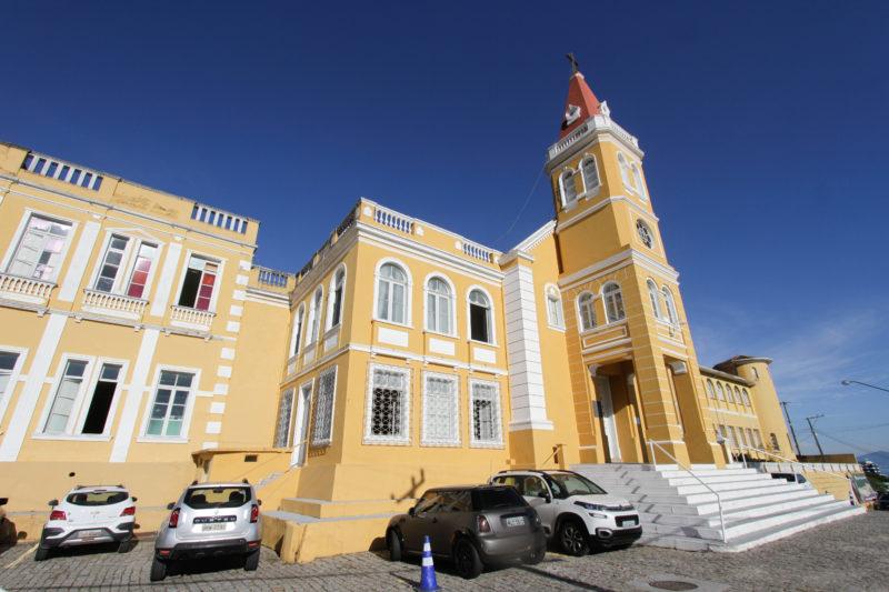 Hospital de Caridade, em Florianópolis, foi arrendado a um grupo privado de SP – Foto: Leo Munhoz/ND