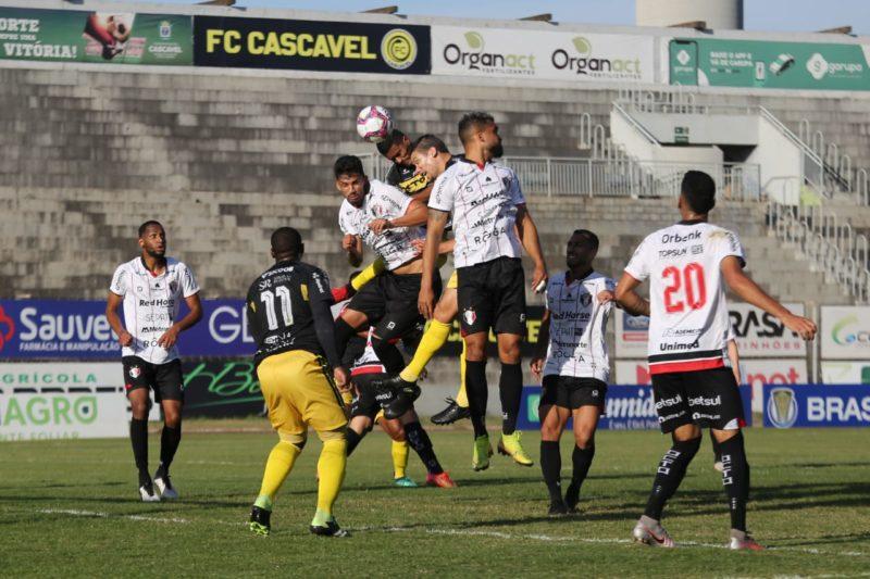 JEC e Cascavel se enfrentaram na tarde deste sábado (5), no Oeste do Paraná – Foto: Felipe Fachini / FC Cascavel
