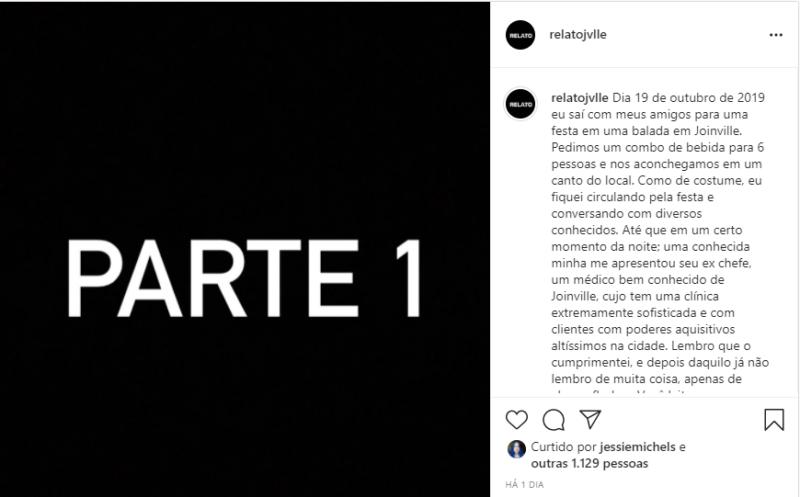 Jovem usou as redes sociais para denunciar o caso – Foto: Instagram/Reprodução