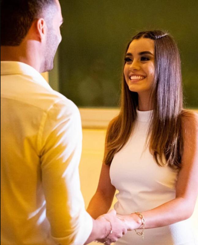 Isadora e Thiago casaram no civil em dezembro de 2020 – Foto: Reprodução Internet