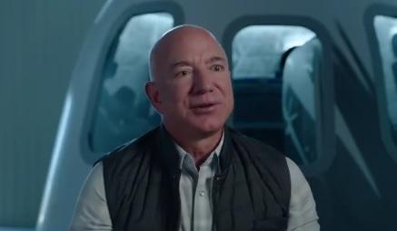 Jeff Bezos anunciou a viagem para o espaço no dia 20 de julho deste ano – Foto: Reprodução/ Instagram