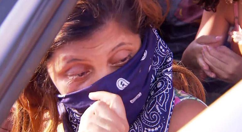 Jorlene Costa, com medo do serial killer, dorme há dois dias dentro do carro – Foto: Divulgação/ND