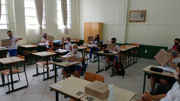 Salário dos professores vai aumentar em Santa Catarina – Foto: SED/Divulgação/ND