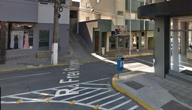 Crime ocorreu no início da tarde desta quarta-feira (15) na rua Frei Rogério, em Lages – Foto: Reprodução/Google Street View