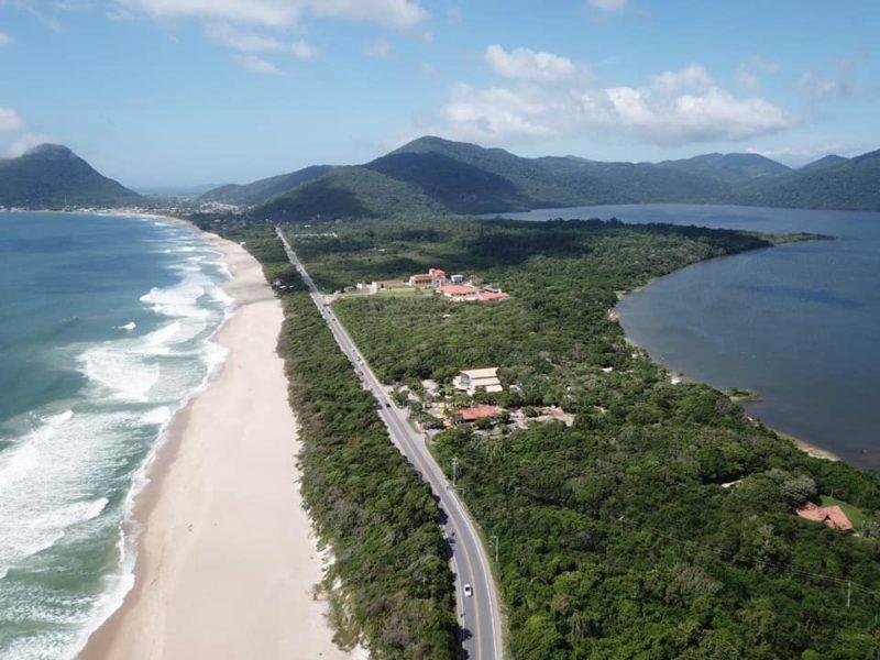 Lagoa do Peri, em Florianópolis – Foto: Divulgação/Floram