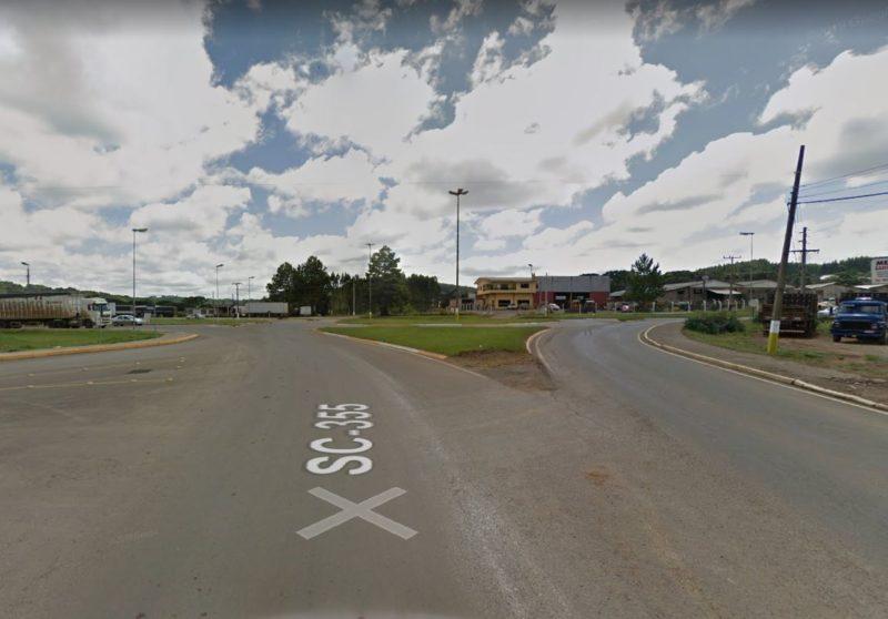 Três mulheres foram atropeladas na noite de terça-feira (8) – Foto: Google Street View/Divulgação/ND