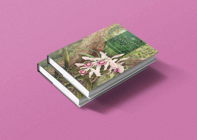 """Segunda edição do livro """"Orquídeas Nativas de Florianópolis"""", de Marcelo Vieira Nascimento, saiu em 2021 – Foto: Divulgação/ND"""