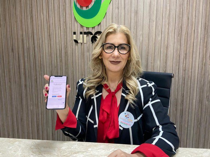Luciane Ceretta entra para a história da Unesc com a maior votação. – Foto: Divulgação