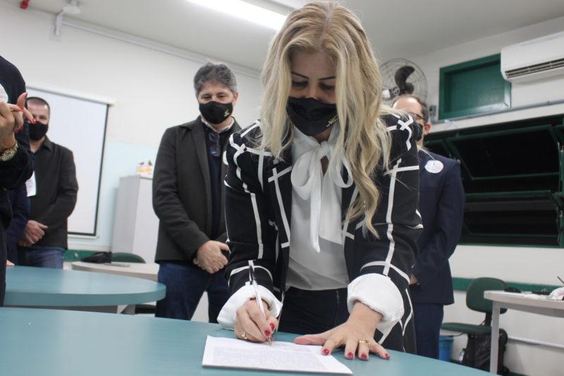 Luciane Ceretta foi reeleita com votação recorde nesta quinta-feira – Foto: Divulgação
