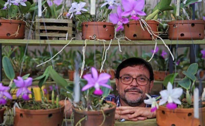 Marcelo Vieira Nascimento é geógrafo com especialização em botânica de plantas ornamentais – Foto: Divulgação/ND