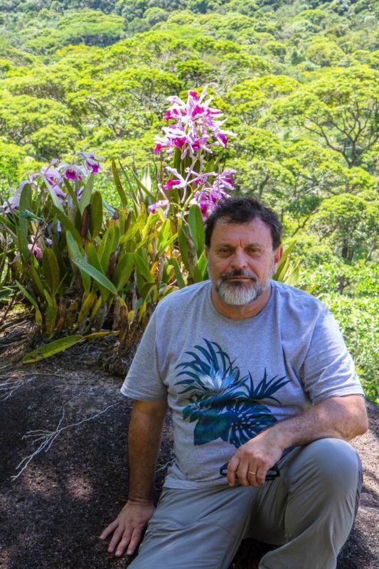 Marcelo fez pesquisa de campo em todo o território de Florianópolis – Foto: Divulgação/ND