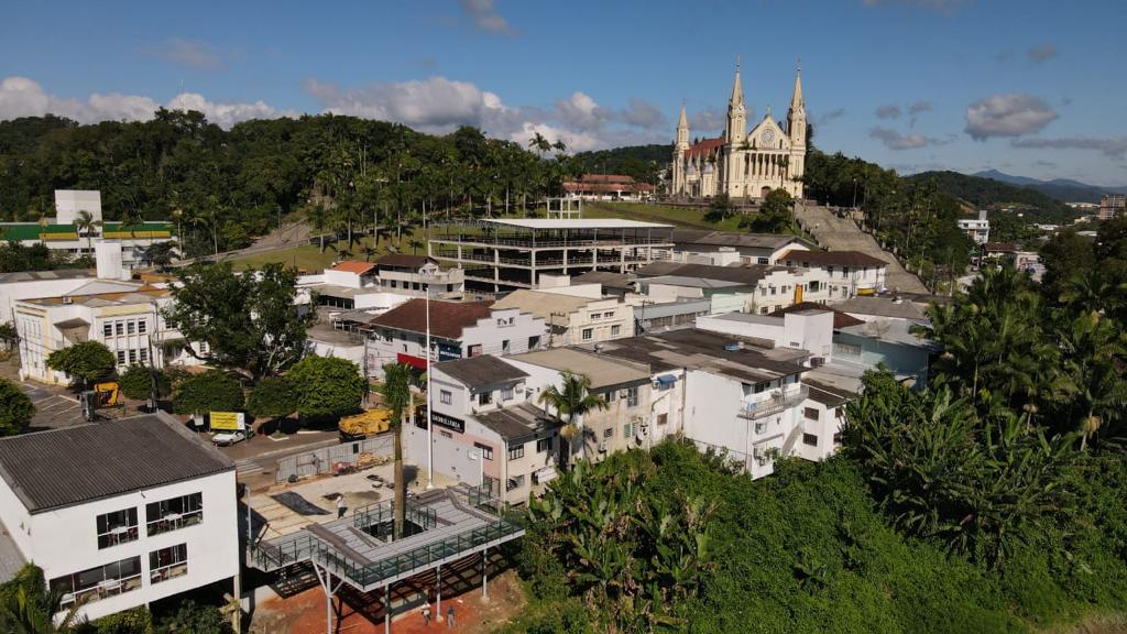 Mirante Marco Zero - Prefeitura de Gaspar