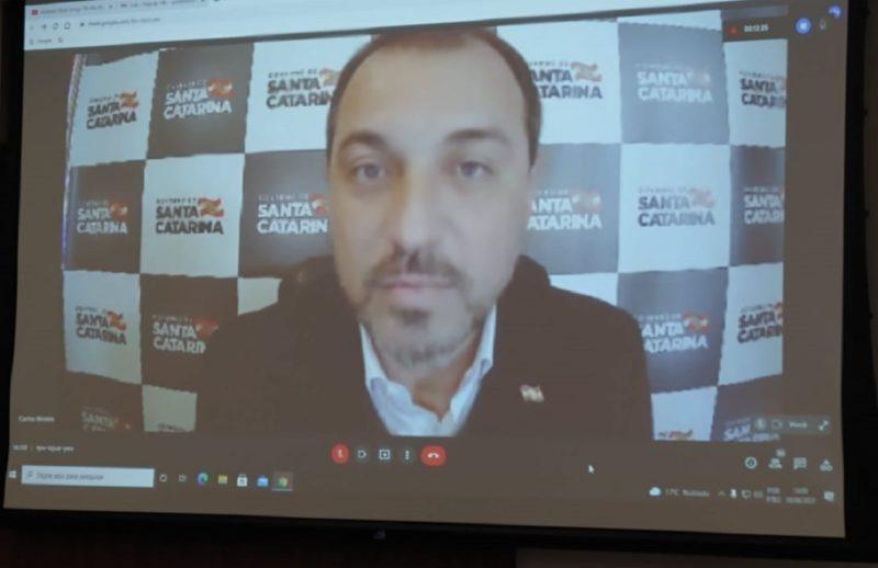 Carlos Moisés concedeu entrevista a jornalistas do Grupo ND – Foto: ND