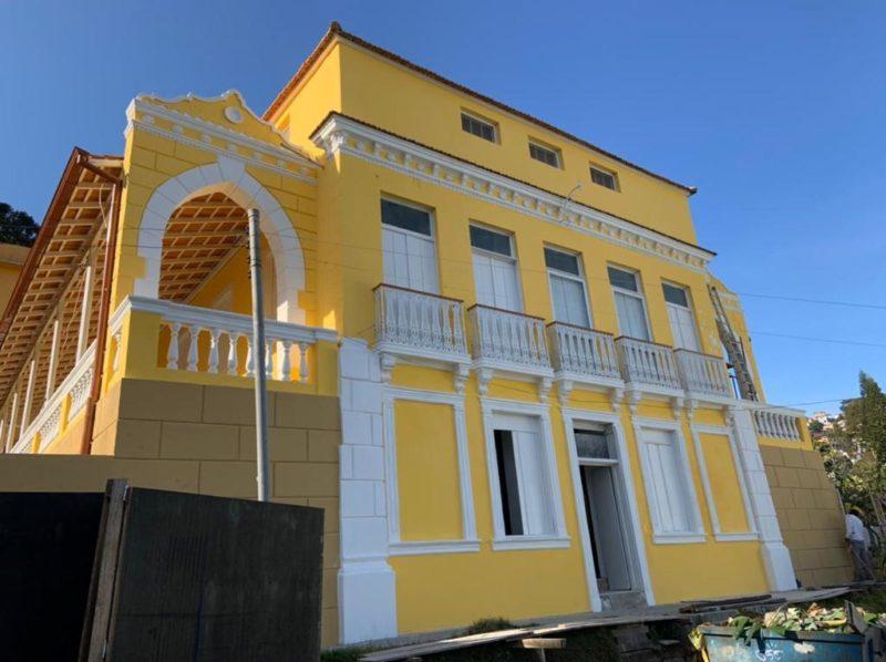 Hospital de Caridade abrigará o primeiro museu fármaco hospitalar de SC – Foto: Divulgação/ND