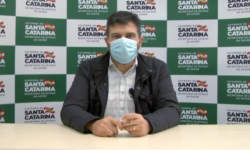Eduardo Macário, superintendente de Vigilância em Saúde de SC