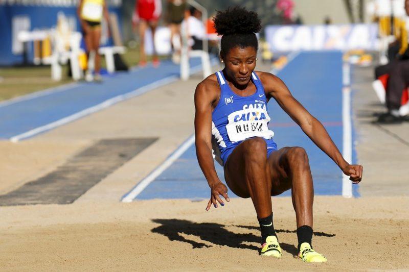 Nubia Soares, de 25 anos, está confirmada na edição de Toquio dos Jogos Olímpicos – Foto: COB/divulgação