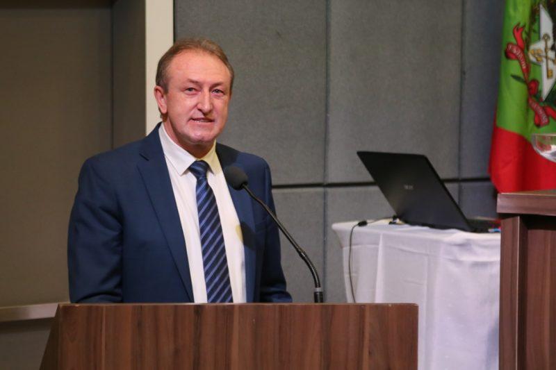 Romualdo Paulo Marchinhacki de Blumenau, recebeu 771 votos – Foto: OAB-SC/divulgação