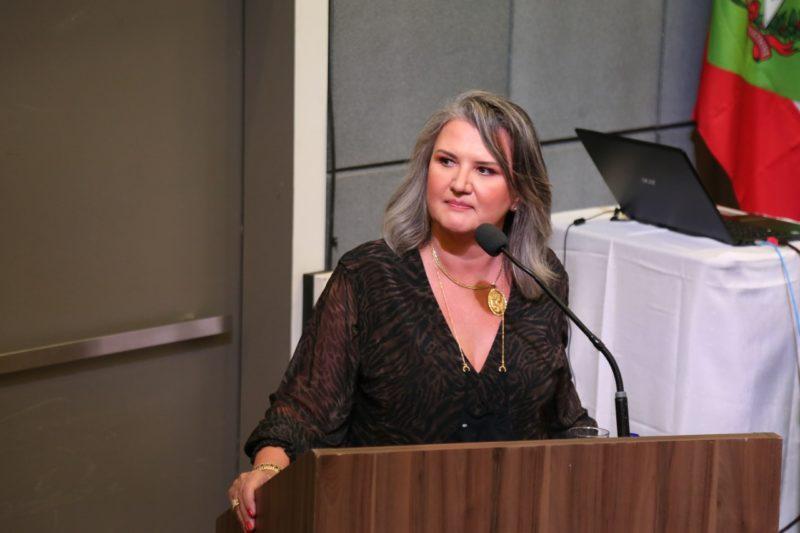 Patricia Uliano Effting, de Tubarão, recebeu 838 votos – Foto: OAB-SC/divulgação