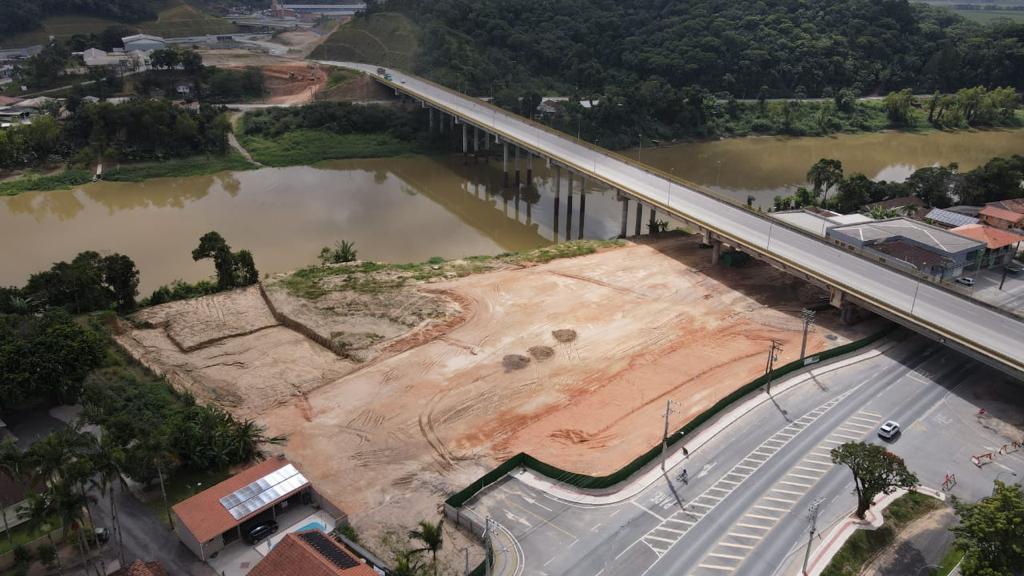 Obra Parque Náutico - Prefeitura de Gaspar