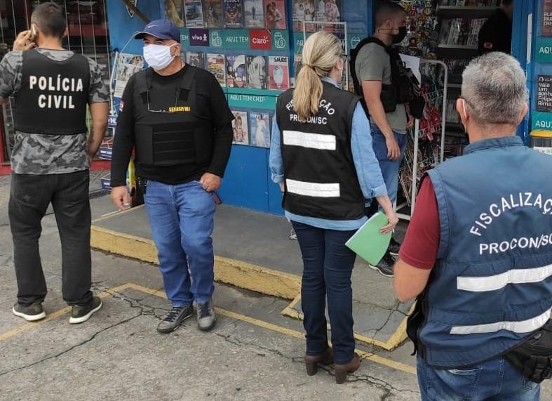 operação fiscaliza jogo do bicho na Grande Florianópolis