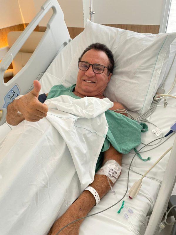 Aguinaldo Loureiro mantém o bom humor – Foto: Divulgação
