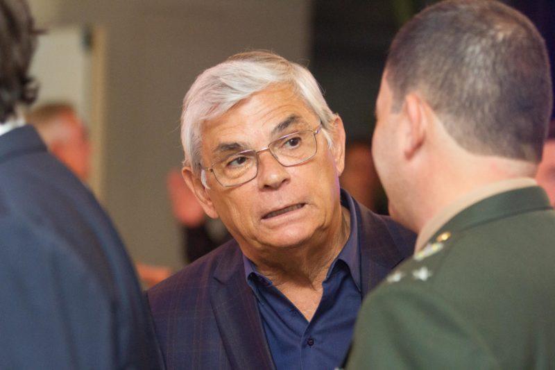 Ex-governador Pinho Moreira está internado em hospital de Florianópolis – Foto: Arquivo/Flavio Tin/ND