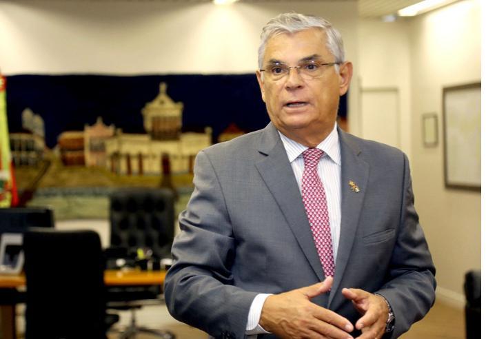 Ex-governador Eduardo Moreira foi diagnosticado com a doença no último fim de semana – Foto: Divulgação/ MDB