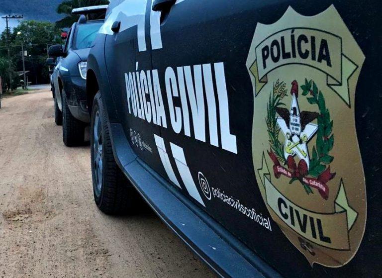 Polícia indiciou uma mulher por falsa comunicação de crime em Orleans – Foto: Polícia Civil/Divulgação/ND