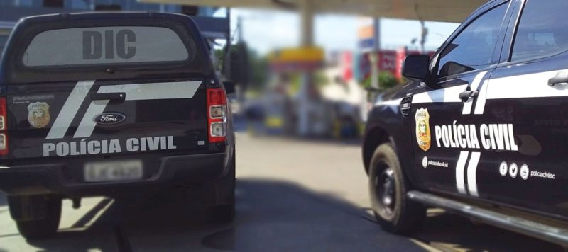 Polícia Civil de Criciúma indiciou 10 pessoas por roubos realizados entre setembro do ano passado e março deste ano na cidade – Foto: Polícia Civil/ND