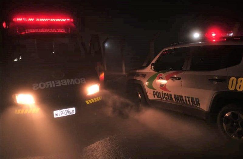 Ocorrência foi atendida pela Polícia Militar e o Corpo de Bombeiros [Imagem ilustrativa] – Foto: Polícia Militar/Divulgação/ND