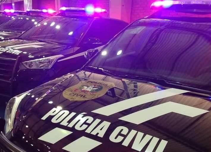 Operação: Documentos com relação as empresas médicas investigadas foram apreendidos em Curitibanos