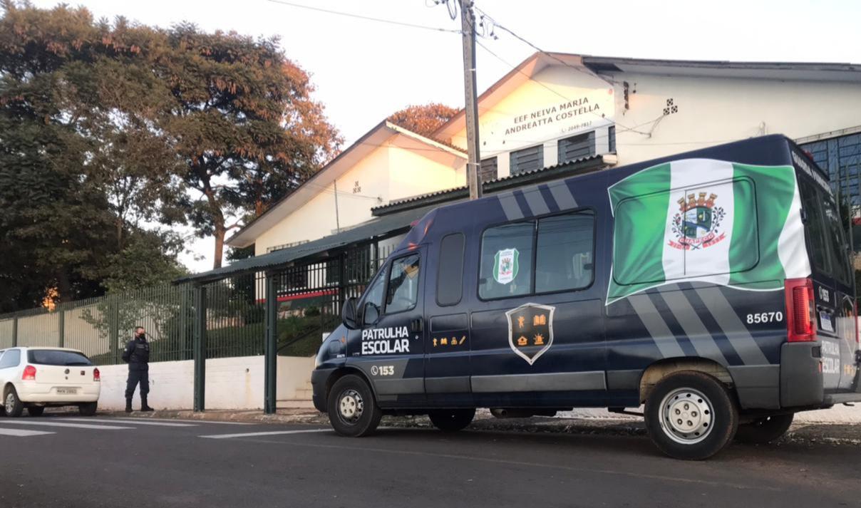 Chapecó já havia aderido a Patrulha Escolar. - Prefeitura de Chapecó/Divulgação/ND