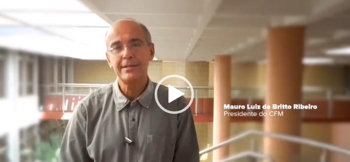 Presidente do CFM (Conselho Federal de Medicina), Mauro Ribeiro, repudia tratamento dado a médicos na CPI da Covid – Foto: CFM/Divulgação/ND