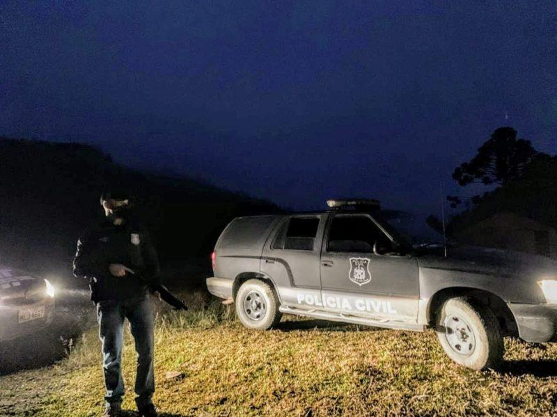 Homem iniciou as ameaças em março após perder a guarda dos filhos – Foto: Polícia Civil/Divulgação