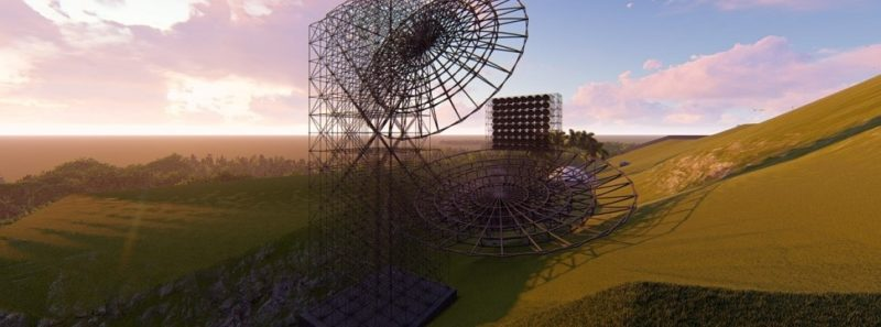 Radiotelescópio BINGO mapeará energia escura a partir do céu brasileiro - Divulgação