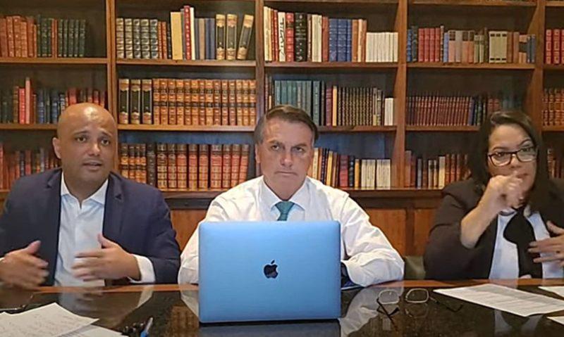 Pronunciamento à Nação – Live PR Jair Bolsonaro (17/06/2021) – Foto: Reprodução YouTube/Jair Bolsonaro/ND