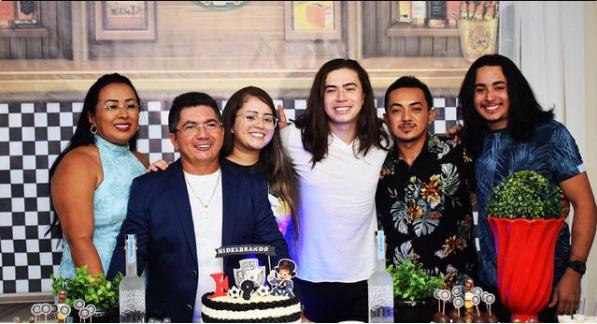 Familiares de Whindersson Nunes se manifestaram nas redes sociais sobre a morte de João Miguel – Foto: Reprodução/Redes Sociais/ND