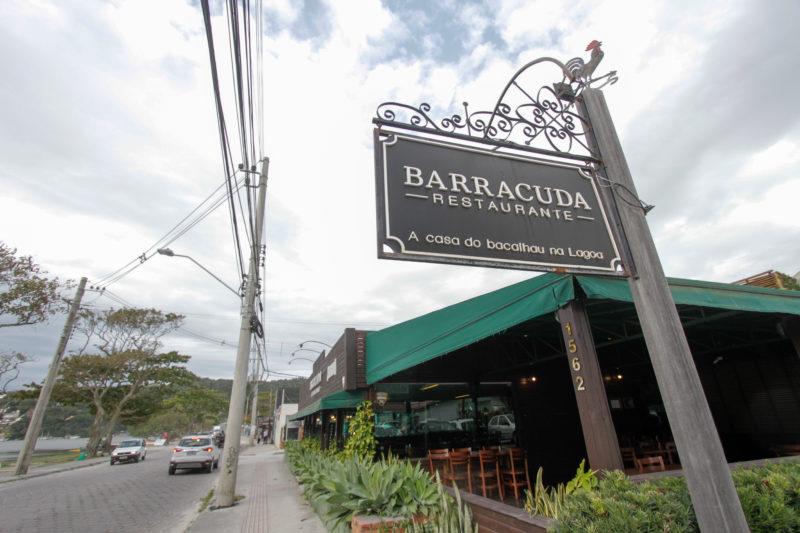 Belchior e professor Gomes jantaram duas vezes no restaurante Barracuda, na Lagoa da Conceição – Foto: Leo Munhoz/ND