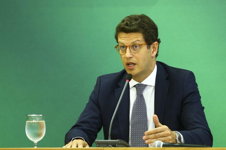 Ato de exoneração de Salles deve ser publicado ainda nesta quarta (23) no Diário Oficial da União – Foto: Marcelo Camargo/Agência Brasil/ND